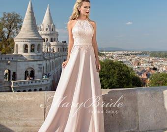 Budapest- Evening dress V-039