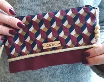 Kit - Burgundy purse