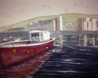 Swansea marina SA1