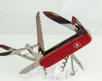 Victorinox Swiss Army Knife Red Huntsman Model