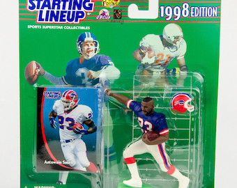 Starting Lineup 1998 NFL Antowain Smith Action Figure Buffalo Bills