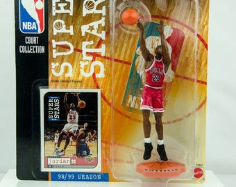 NBA Super Stars Court Collection Michael Jordan 98/99 Season Action Figure Bulls