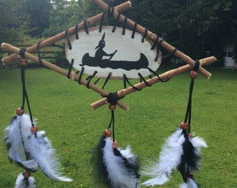 Authentic Native American Dream Catcher, Solitude Symbol , Spirit Mandala , Cherokee Art, Native Spirituality, Native Symbolism.
