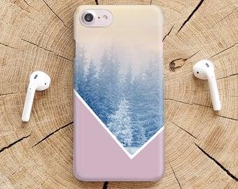 Snowy Geometric iPhone 8 Case iPhone X iPhone 7 Case iPhone 7 Plus Case iPhone 6s Case 8 Plus iPhone 6 Case Samsung Galaxy S8 Case YZ1421
