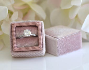Handmade Ring Box for Wedding Rings, Engagement Rings, Fine Jewelry