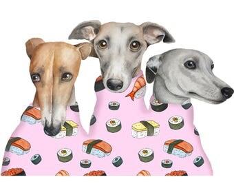 Sushi Greyhounds Pink