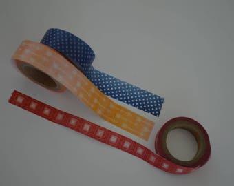 Washi Tape Sample Set Arrow 3 x 1 m