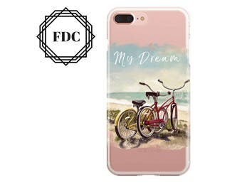 7 Plus case Bike iPhone 7 case, iPhone 6 / 6s / 6 Plus Case, iPhone 5s / SE / 5 Case, Hard plastic/ rubber case.