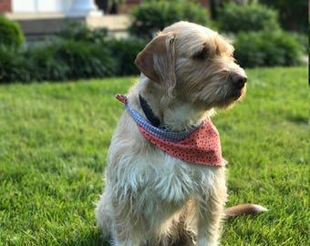 Preppy Summer Dog Bandana