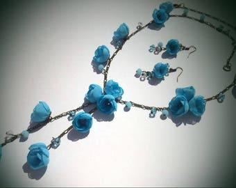 Jewellery, Jewellery Set,  jewelry, Necklaces, Earrings, Women Accessories, Gift, Fine Jewellery, cloth jewelry, chiffon Jewellery, beads