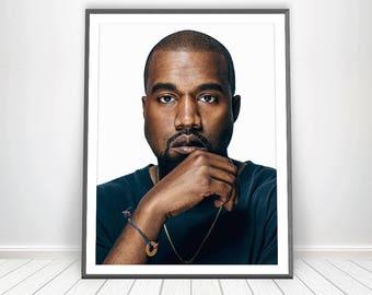 Kanye West Poster * Kanye West Print I Feel Like Pablo Yeezy Poster Kanye 2020 Kanye for President Kanye West Tour Merch Hip H