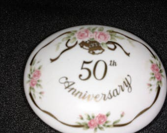 Lefton 50th Anniversary Keepsake Box