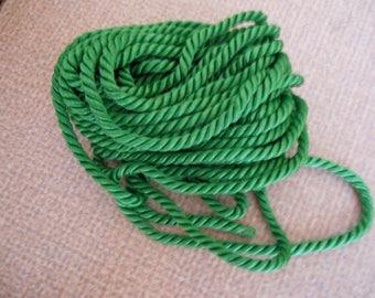 Green rayon twisted cord
