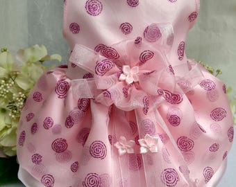 Sugar Plum Fairy Designer Dog Dress