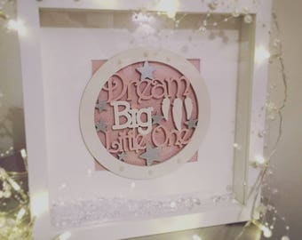Personalised Frame/ Baby Gift/Christening Gift/Nursery Decor/Nursery Frame/Personalised Gift/Baby Shower Gift/Birthday Gift