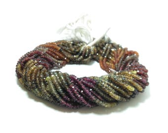 AAA Multi Garnet Faceted Beads Strand | Mozambique Garnet, Rhodolite Garnet and Hessonite Garnet | Tundro Beads | Tundro Garnet Beads