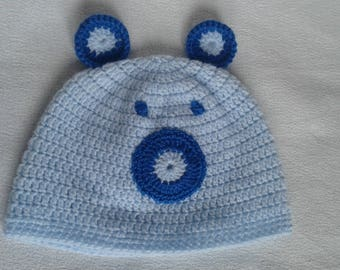 beanie baby bear color blue for 6 months