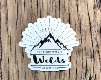 Pennsylvania Wilds Stickers