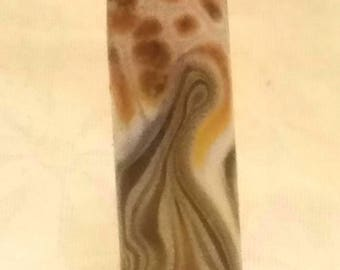 Vic's Glass Creations - Which Way - handmade lampwork focal bead - SRA