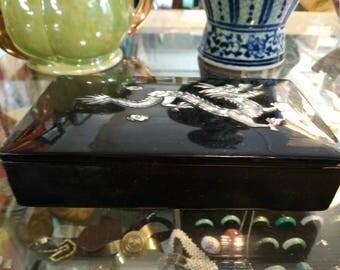 Chinese 1980s jewelry box