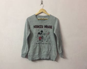 SALE ! Vintage MICKEY MOUSE big logo spell out logo