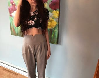 High Waisted Skinny Trouser