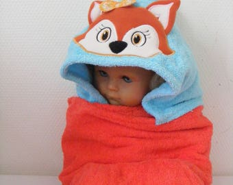 """vixen"" hooded towel"