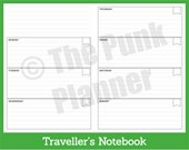D031-TN Boxed Flagged Lined Diary - WO2P Spread