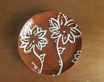 Hand made plate