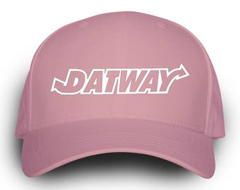 Datway Dad Hat Pink