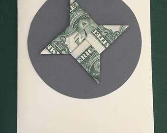 Origami Ninja Star card