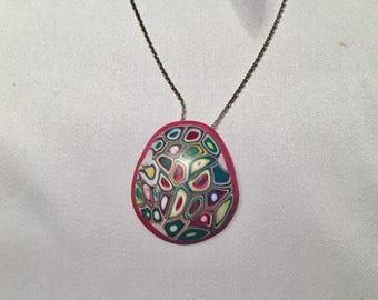 Multicolor mod pendant