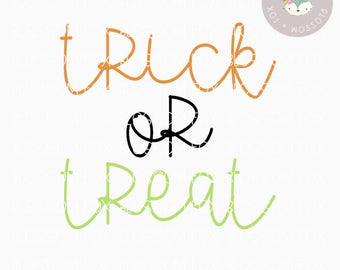 Halloween SVG, Trick or Treat Svg, Halloween SVG File, Spooky Svg, Witch Svg, Candy svg, Cutting File, Halloween Svg Cut File, SVG, Fall svg