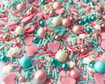 Valentines day sprinkles, cupcake sprinkles