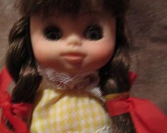 little girl doll Vrreda mini doll