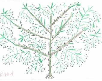 "8 x 10 Art Print ""Olives"""