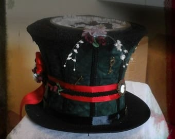 Steampunk Mad hatter Style Ladies Hat