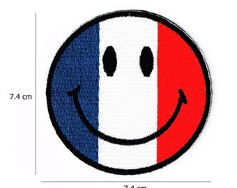 France Smile Patch W.Ch.Patch