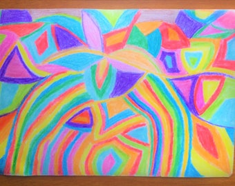 Original, freestyled, abstract art