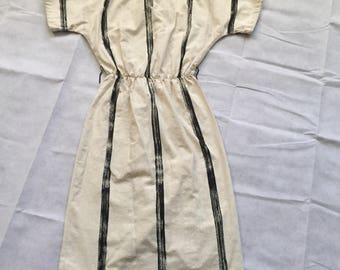 Vintage PBJ cotton shirt dress size 5