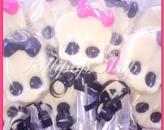 12 Monster High chocolate lollipops (Birthday, monster high party favors, monster high birthday, skull lollipops)
