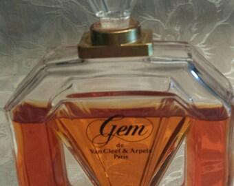 Gem, Eau de Toilette, Perfume, Made in France, 1987, Vintage, Fragance