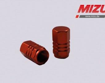 MIZU Pro Race valve cap for all motorbike valves