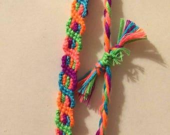 Multi knotted Friendship Bracelet