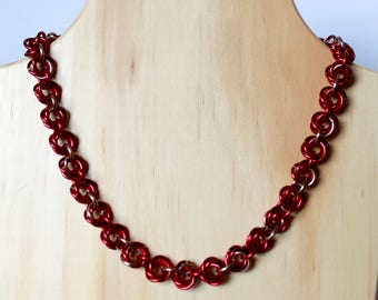 "17"" Rosette Necklace"