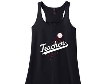 Teacher Flowy Tank