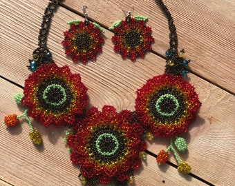 Mexican jewelry set handmade