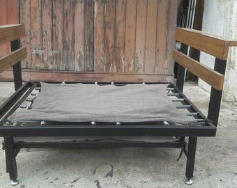2 in 1 sofa daybed bed ep vintage 1960's Chair