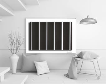 Abstract Vertical Stripes