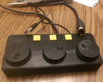 MIDI Controlled Encoders for PC Lighting